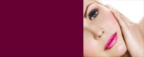 Semi permanent makeup eyebrows, eye liner, lip liner